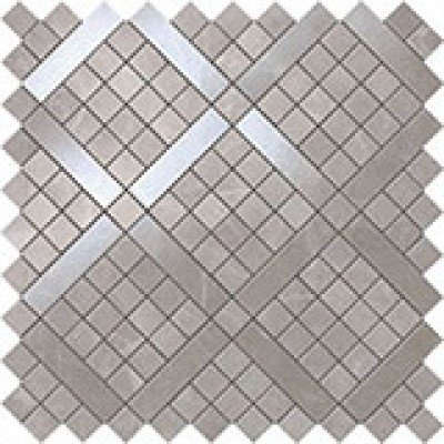 Atlas Concorde Marvel Pro Travertino Silver Diagonal Mosaic 30.50 30.50