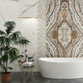 Разнообразие плитки для ванной комнаты – цвета, фактура и состав