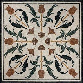 Типы мозаики для облицовки кухни, виды стеклянной облицовки